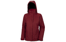 COLUMBIA Women's Pioneering Peak Parka red element/cherrybomb
